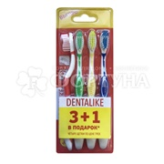 Зубная щетка Dentalike Deep Clean 3+1 средняя