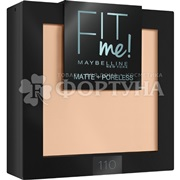 Пудра Maybelline Fit me т.110