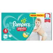 Подгузники Pampers Pants 104 шт 4 (9-15кг)