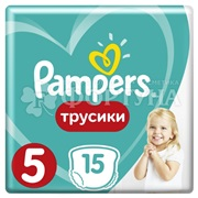 Подгузники Pampers Pants 15 шт 5 (12-17кг)